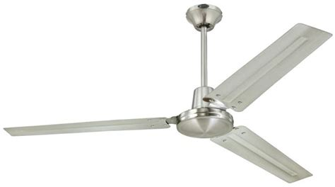 Hampton Bay Led Ceiling Light by Westinghouse Industrial 56 Inch Three Blade Indoor Ceiling