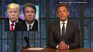 Late night mocks FBI's latest Kavanaugh probe - CNN Video