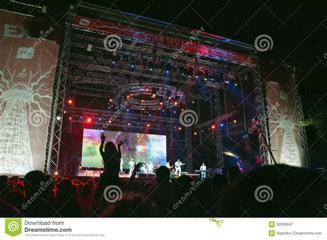 Exit Music Festival Novi Sad Serbia Editorial Photography