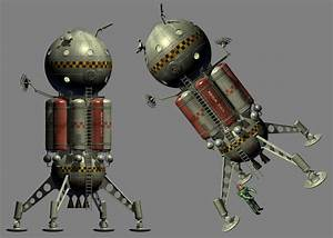 1950s style atompunk spaceship - small changes by Paul ...