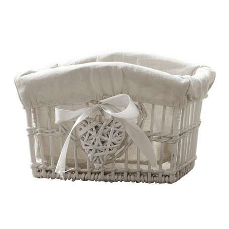 dunelm white willow small basket kosarfonas papirbol es