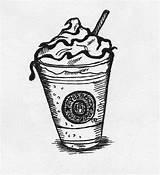 Starbucks Coloring Sketch Pages Cup Drawing Printable Mmm Sketchite Deviantart Template Getdrawings Source sketch template