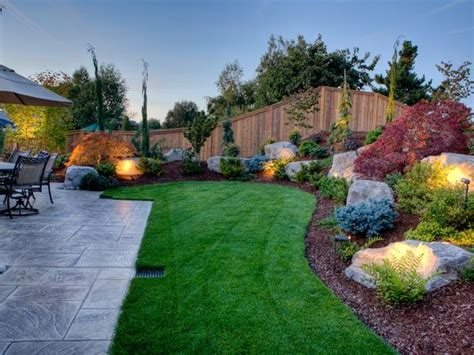 landscaped backyards pictures best 25 backyard landscape design ideas on