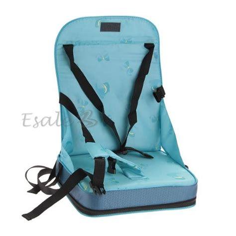 coussin chaise haute bébé bleu coussin housse chaise haute rehausseur nomade siège