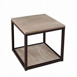 Bout de canape avec tablette meubles macabane meubles for Nettoyage tapis avec bout de canapé industriel