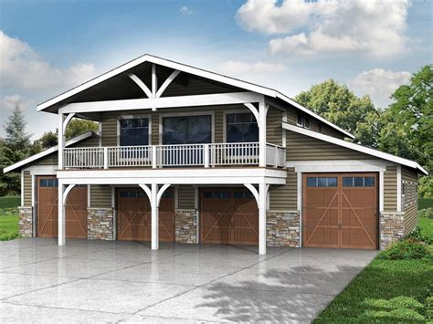 6-car Garage Plan With Recreation
