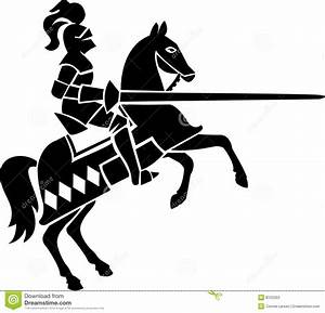 Knight on Horse/eps stock vector. Illustration of games ...