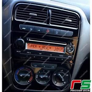 Fiat Grande Punto Radio : adesivi fiat punto decal carbonlook decal stereo lettore ~ Jslefanu.com Haus und Dekorationen