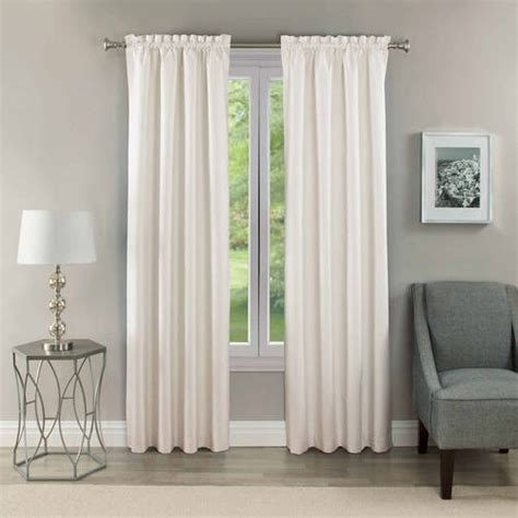 Eclipse Samara Thermaback Curtains by Eclipse Samara Blackout Energy Efficient Thermal Curtain