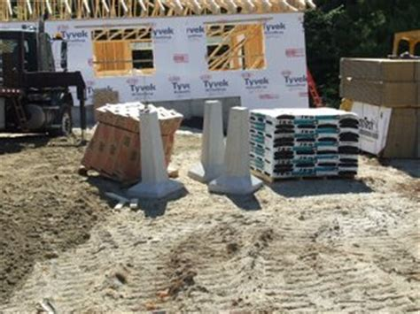 precast concrete piers footings best practice porch and deck footing foundation types 4392