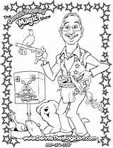 Coloring Sheets Magic Magician Sheet Dennis sketch template