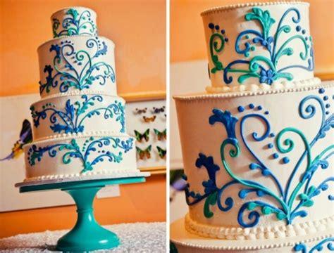 piped filigree cake cake  cupcakes design  adon