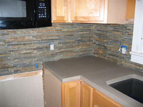 slate backsplash tiles for kitchen meade home renovation documenting the progress of 7972