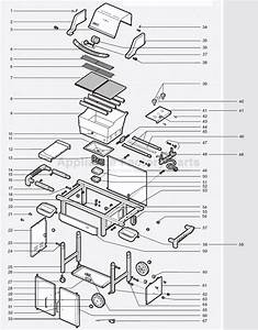 30 Weber Spirit Parts Diagram