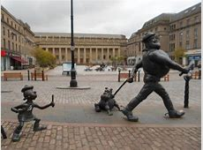you have to laugh Picture of Desperate Dan Statue