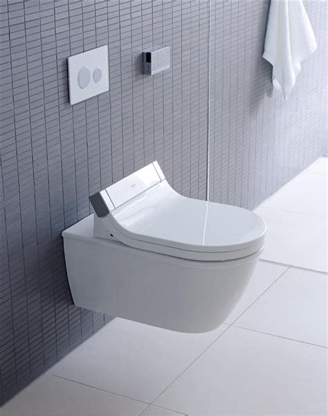duravit new wall hung toilet with starck e shower