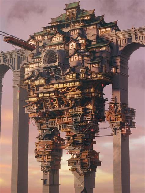 impressive minecraft builds amazing minecraft minecraft castle minecraft structures