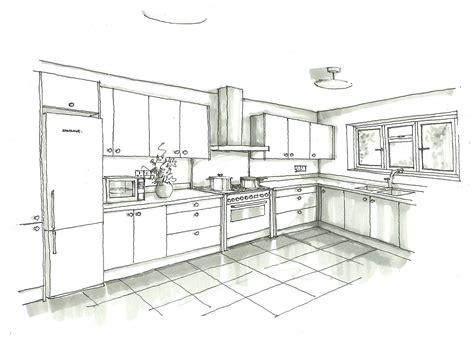 kitchen design sketch interior design sketches kitchen 1358