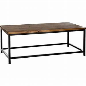 capper oak wood metal legs coffee table 4m205 lamps plus With oak and metal coffee table