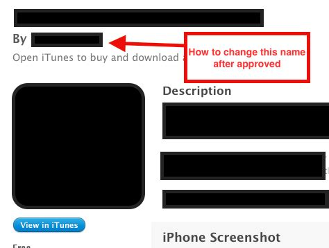 change iphone name iphone change ios app provider by name after