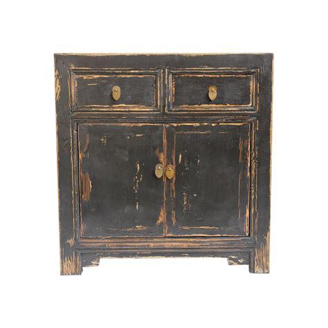 black distressed sideboard black distressed sideboard cabinet chairish 1677