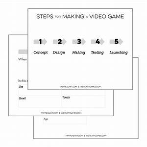 tiny peasant video game design template With simple game design document template