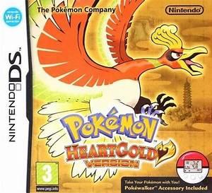 4839 Pokemon Heartgold Version V10 Nintendo Dsnds