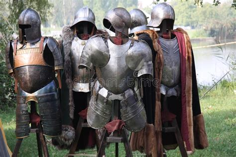 Medieval Body Armour Stock Image. Image Of Cloak, Medieval