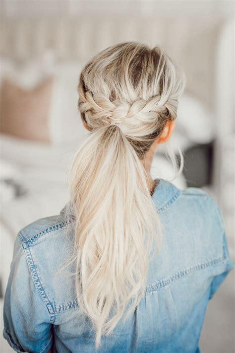 ponytail hairstyles  spring  summer