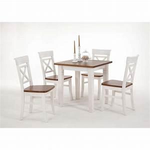 Esstisch Stühle Weiß : landhaus tisch mit st hle wei honig kiefer massiv 2 ~ Michelbontemps.com Haus und Dekorationen