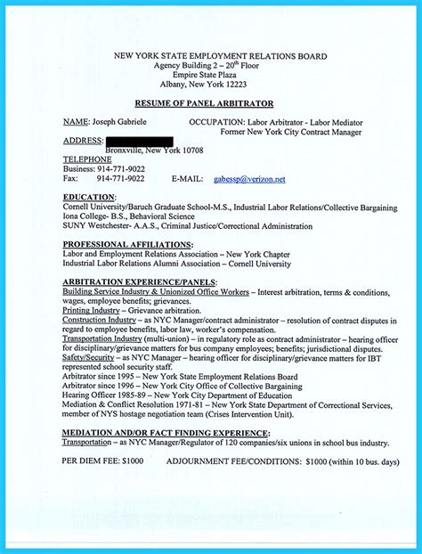 criminal justice resume collection  professionals
