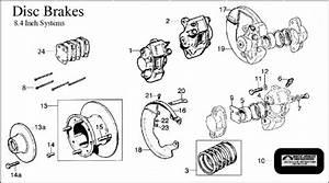 Diagram  Brakes  8 4 U0026quot  Rotor Disc