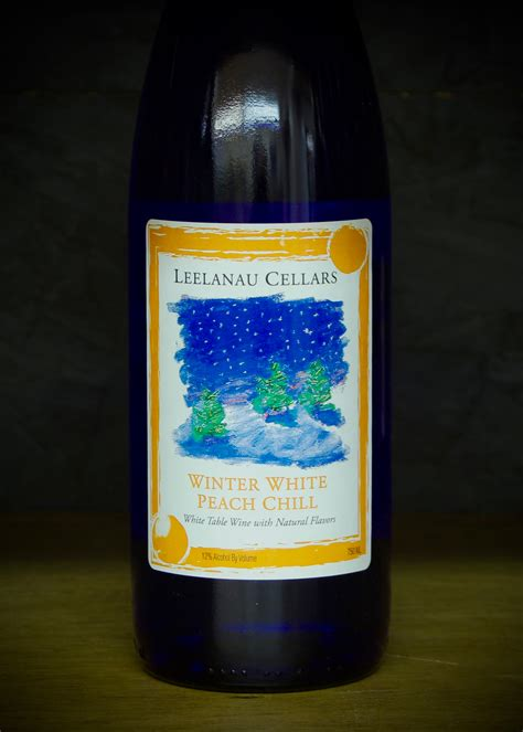 leelanau cellars winter white peach chill
