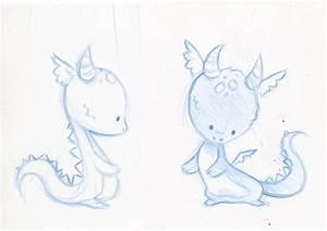 Baby dragon sketches by danieru-chan on DeviantArt
