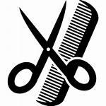 Scissors Comb Icon Icons