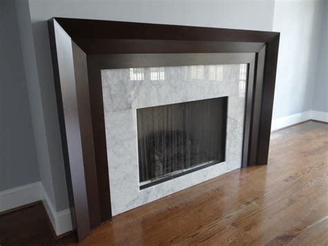 fireplace mantels fireplace mantels modern living room by Modern