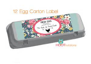 floral bands floral egg labels to print at home one dozen 12