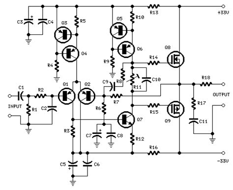 Channel Audio Mixer Circuit Diagram