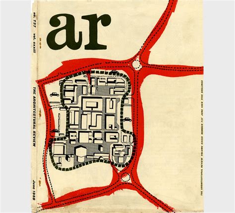 Architectural Review Magazine Covers Of The 1950's