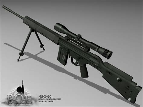 hk msg  sniper rifle image point  existence  mod