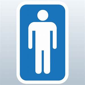 Male bathroom symbol clipart best for Male female bathroom sign images