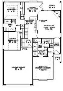 3 bedroom country house plans 654104 one story 3 bedroom 2 bath country style