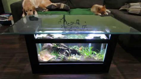 break    coffee table aquarium