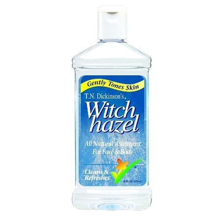 witch hazel alcohol rubbing sweaty hands stop astringent newhealthadvisor