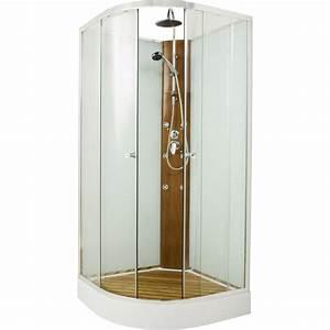 paroi douche pas cher With porte de douche coulissante avec tapis salle de bain antidérapant leroy merlin