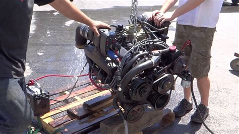 volvo penta  ci ford complete marine engine model