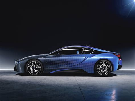 The Bmw I8 Just Debuted One Of The Trippiest Paint Jobs