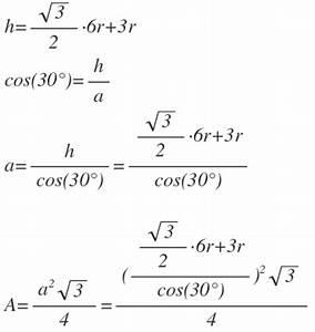 Kubikzentimeter Berechnen : fl che suche die formel f r die fl che eines dreiecks um 10 kreise mit radius r gem ss skizze ~ Themetempest.com Abrechnung