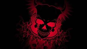 skull, Colorful, Gradient, Black, Dark, Devil Wallpapers ...