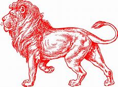 Free vector graphic Lion, Red, Male, United, Kingdom